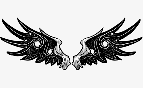 vector black girls kissing tattoo wings vector black
