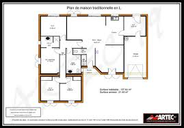 plan maison 4 chambres suite parentale plan maison 4 chambres avec suite parentale impressionnant plan