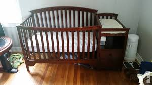 Changing Table Crib Combo Like New Baby Crib Changing Table Combo For Sale In Thibodaux