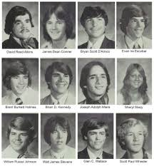 1980 high school yearbook in memoriam
