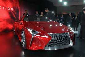 lexus lf lc features lexus lf lc coupe reportedly heading for production