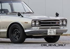 Gtr 2000 1970 Nissan Skyline 2000 Gt R Hakosuka Sedan 1
