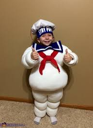 Ghostbusters Halloween Costumes Stay Puft Marshmallow Man Costume Watch Ghostbusters Halloween