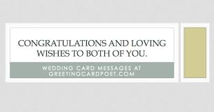 congratulations marriage card wedding card messages wishes and quotes what to write on card