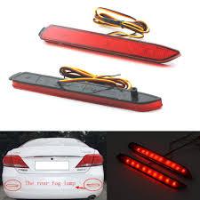 lexus rear bumper car led tail light parking brake rear bumper reflector lamp for