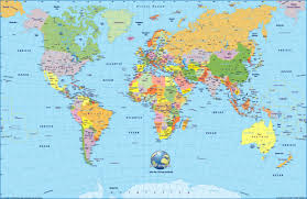 world cities on map map world cities major tourist attractions maps