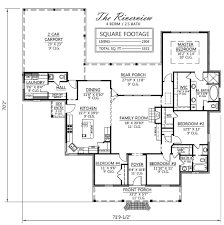 View House Plans by House Plans With River View House Design Plans