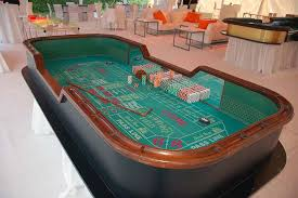 Craps Table Professional Casino Craps Table Rentals Premier Casino Events