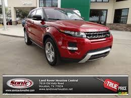 red land rover old 2013 firenze red metallic land rover range rover evoque dynamic
