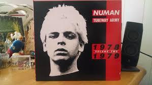 underground gary numan with tubeway army record lp