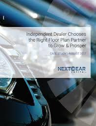 case study independent dealer chooses the right floor plan partner