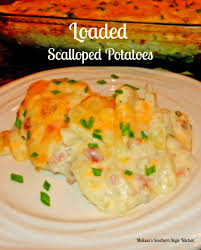 thanksgiving scalloped potatoes bhg slow cooked three cheese scalloped potatoes and ham