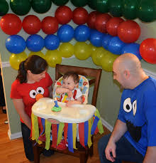 flavors by four sesame street birthday party ideas