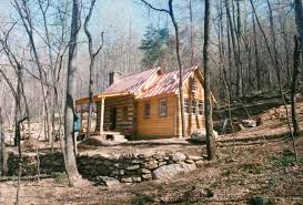 part four of building a rustic cabin handmade houses with