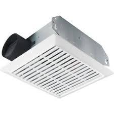bathroom ventless exhaust fan nutone duct free wall ceiling mount exhaust bath fan 682nt the