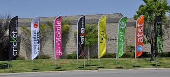 jeep auto dealership advertising feather banner swooper flag