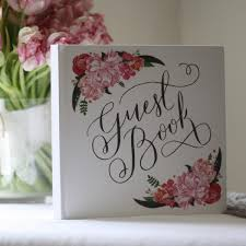 guest book botanical wedding guest book the wedding of my dreams