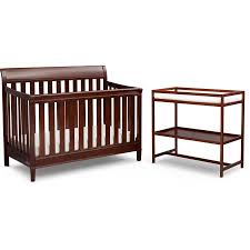 Changing Table And Crib Delta Children Harbor 4 In 1 Convertible Crib Changing Table Set