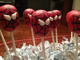 spider man cake pops la hoot bakery