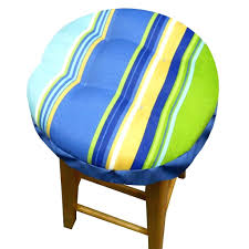 Round Outdoor Bistro Chair Cushions by Bar Stools Black Bar Stool Covers Round Bar Stool Covers At