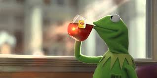good morning america thinks the kermit sipping tea meme is called