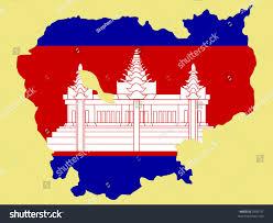 Map Of Cambodia Map Cambodia Cambodian Flag Illustration Stock Vector 2939751
