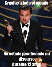 Memes De Leonardo Dicaprio - los mejores memes de los oscars 2016 la victoria de leonardo dicaprio