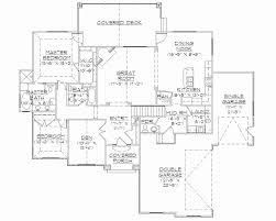 house floor plans with basement rambler house plans best of 54 floor plans walkout basement