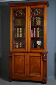 Mahogany Bookcases Uk Victorian Mahogany Bookcase Gothic Revival Antiques Atlas