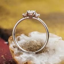 inel de logodna aur alb zehava engagement ring 18k white gold with white diamond