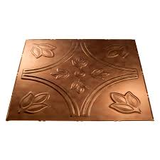 shop fasade antique bronze faux tin 15 16 in drop ceiling tiles