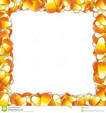 free halloween borders clipart of a cartoon halloween candy corn character with vampire