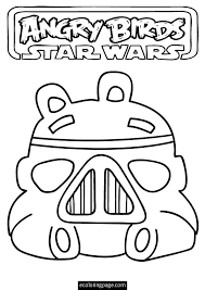 angry birds star wars storm trooper pig printable coloring