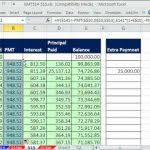 loan amortization template excel loan amortization with microsoft