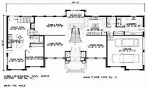 house plans in suite two story house plans with in suite fresh house plans