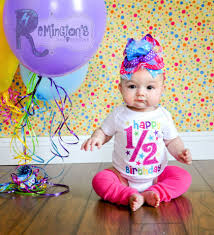 ideas for baby s birthday 6 month baby home picture ideas this idea