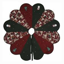 crochet christmas tree skirt pattern free christmas lights