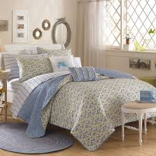 laura ashley girls bedding bedroom charming blue cream and floral pattern laura ashley