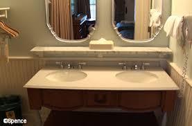 Refurbished Bathroom Vanity Port Orleans Riverside Room Refurbishments The U201cworld