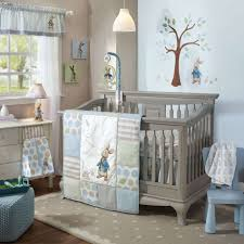 Modern Baby Boy Crib Bedding by Baby Nursery Cozy Grey Painted Wood Boy Baby Crib Sets With