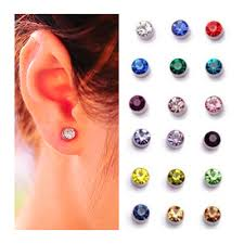 magnetic earrings aliexpress buy 4mm 5mm 9 colors women magnet stud earrings