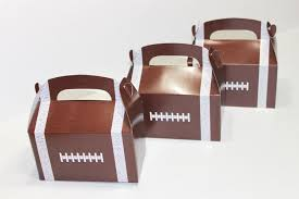 football party favors kids boxes easy football party favors frame boxes