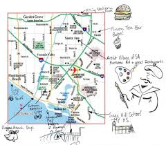 Santa Ana California Map Santa Ana With Courtney Conlogue Billabong Us