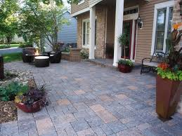 Patio Pavers Diy How To Install Pavers In Backyard Flowers