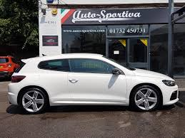 volkswagen scirocco r 2012 used 2013 volkswagen scirocco r dsg sat nav heated leather for
