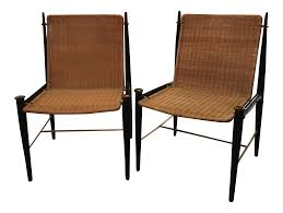 superb pair of frank kyle mexican modernist rosewood brass and