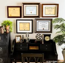celebrate your accomplishments by framing your diploma for display