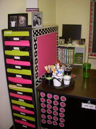 Teacher Desk Decorations Don U0027t Forget You Can Use The Backs Of Filing Cabinets And