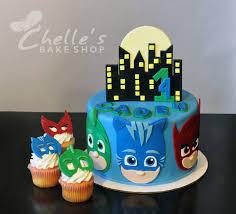 pj masks cake superheros gekko catboy u0026 owelette www facebook
