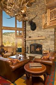 cabin living room ideas 47 extremely cozy and rustic cabin style living rooms bearskin